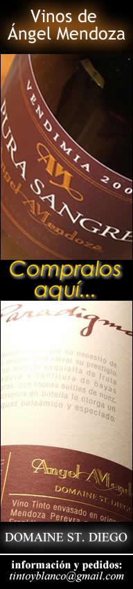 Comprar vinos de Angel Mendoza - Pura Sangre - Paradigma